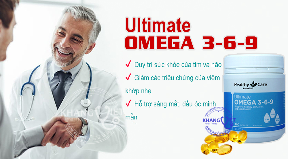 Healthy Care Ultimate Omega 3 6 9