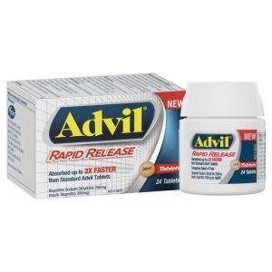 Advil Rapid Release 24 Tablets