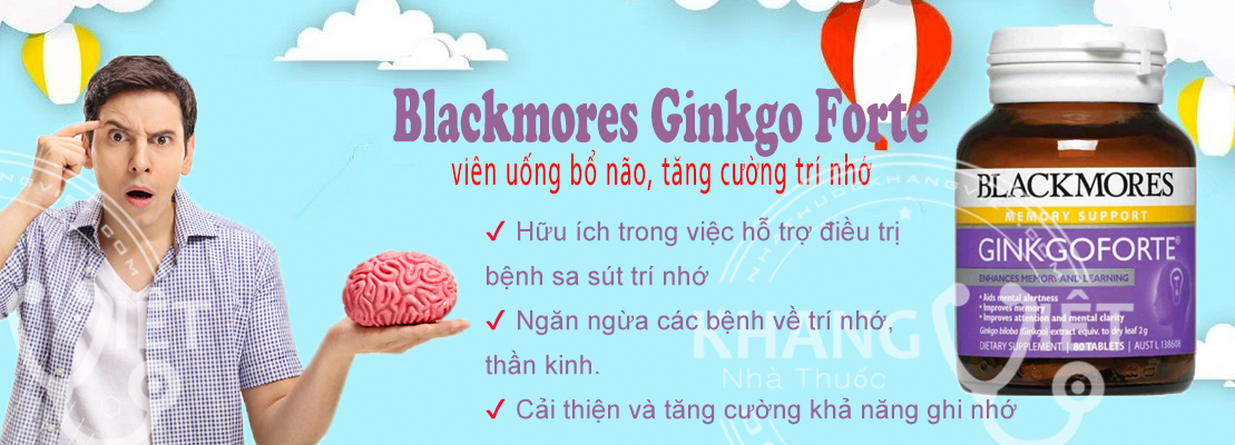 Blackmores Ginkgo Forte 2000mg 80 Tablets