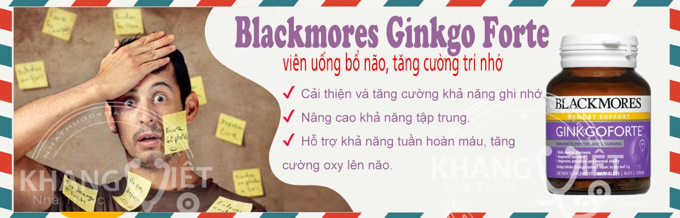 Blackmores Ginkgo Forte 80 Tablets