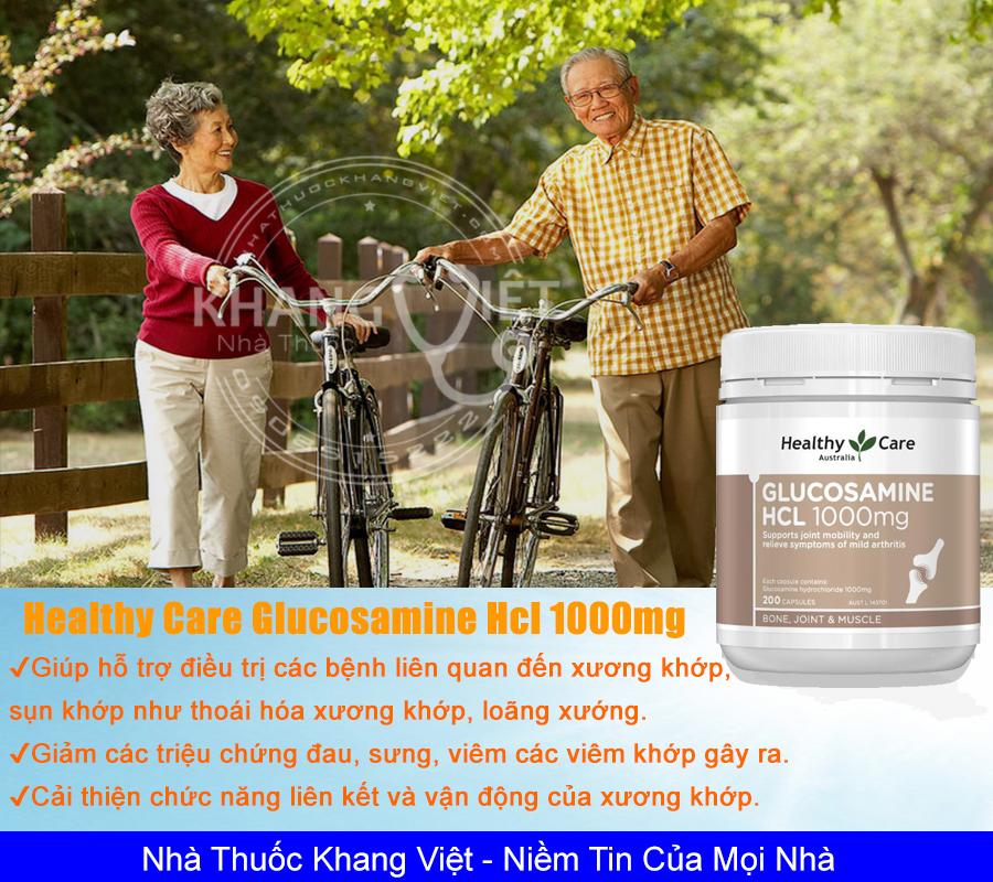Healthy Care Glucosamine Hcl 1000mg