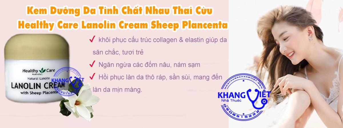 Healthy Care Lanolin Cream Sheep Plancenta Kv