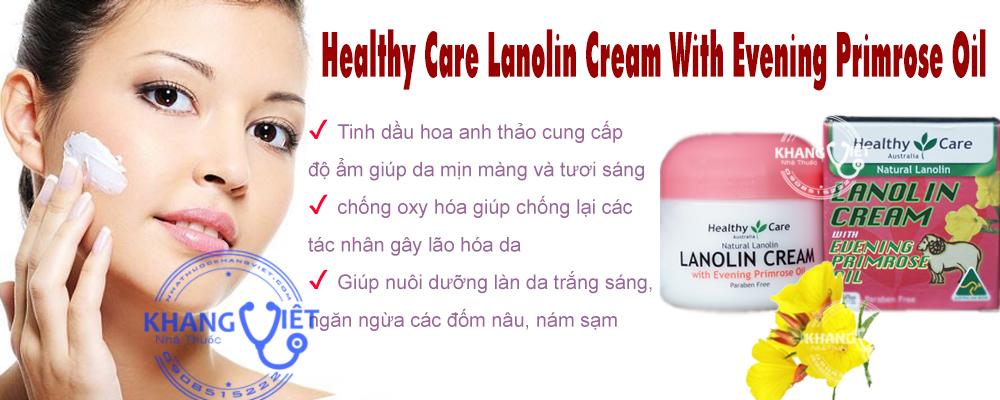 Lanolin Cream With Evening Primrose Oil Kv