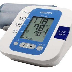 Máy đo huyết áp bắp tay Omron HEM 7203 - Hàng chính hãng