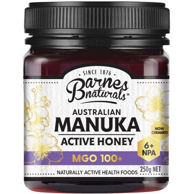 Mật Ong Barnes Naturals Manuka Úc 250g Mgo 100+