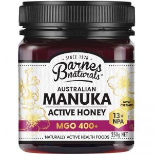 Mật Ong Barnes Naturals Manuka Úc 250g Mgo 400+