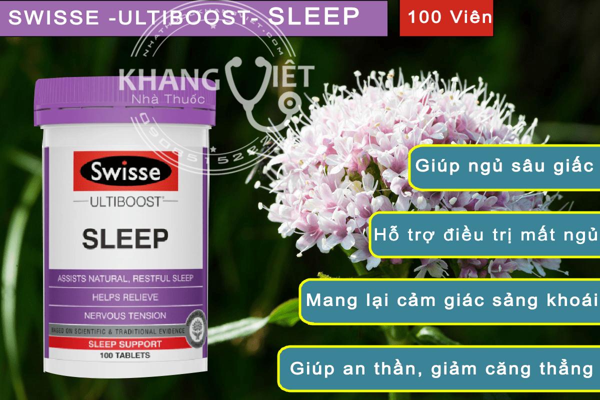 Viên Ngủ Ngon Mơ Đẹp – Swisse Ultiboost Sleep Min (1)