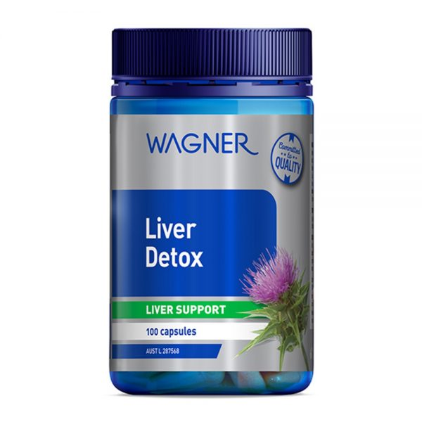 Viên uống bảo vệ và giải độc gan Wagner Liver Detox