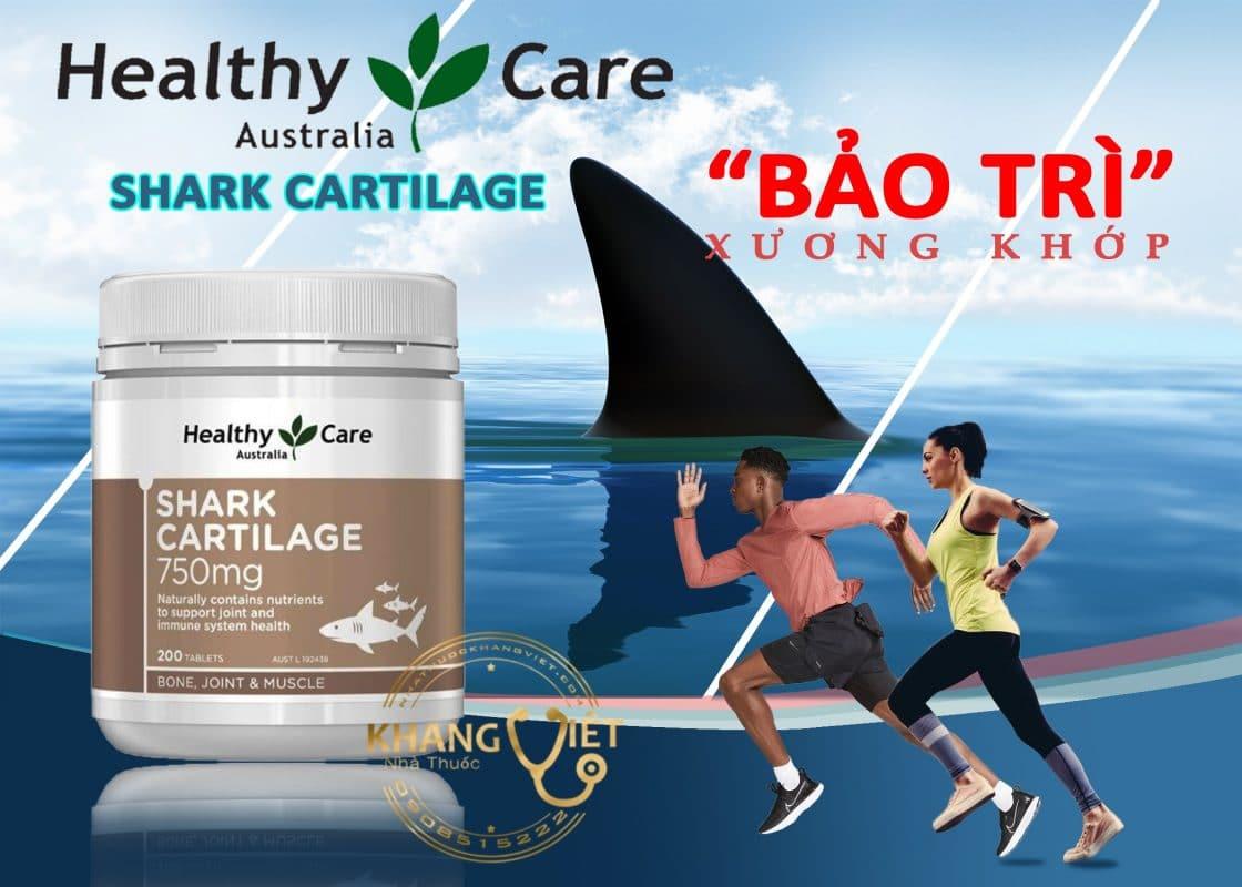 Shark Cartilage 759 mg Chính Hãng