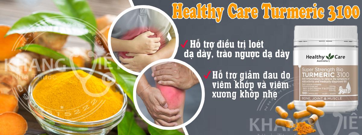 Healthy Care Turmeric 31001