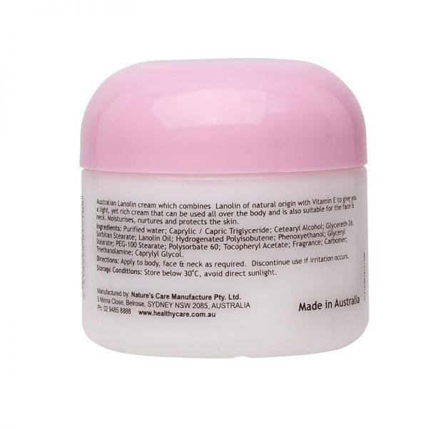 lanolin cream with vitamin e