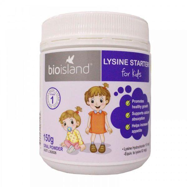 Bio Island Lysine Starter for Kids 150g Oral Powder