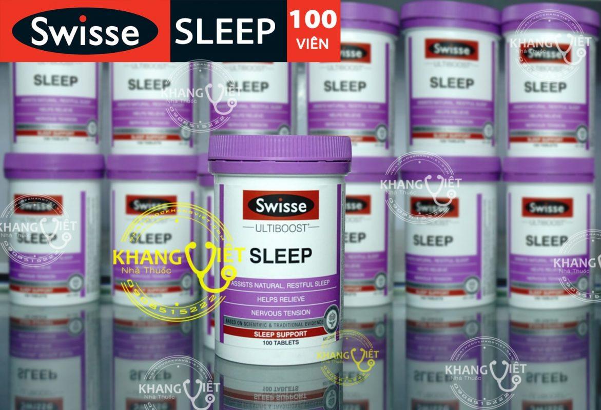 thuốc ngủ ngon sleep swisse