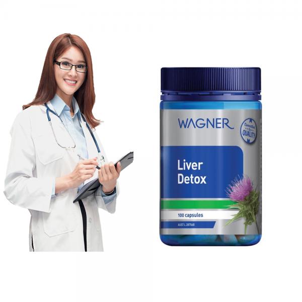 Viên Giải độc Gan Liver Detox Wagner