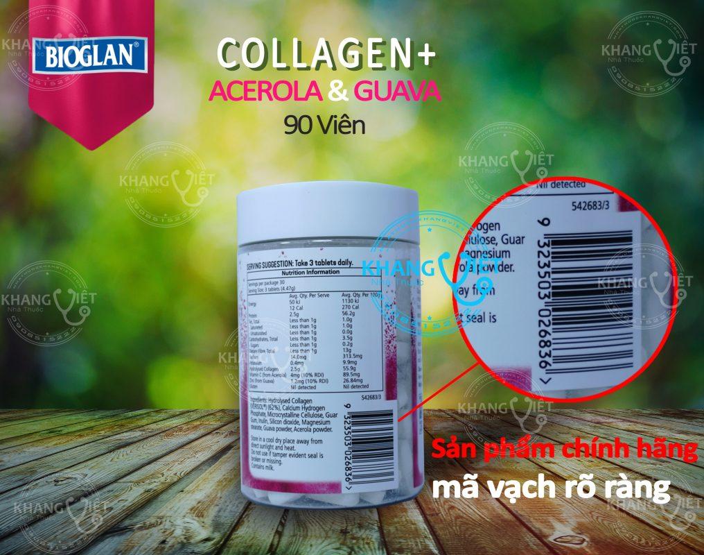 Collagen bioglan chính hãng nhập khẩu