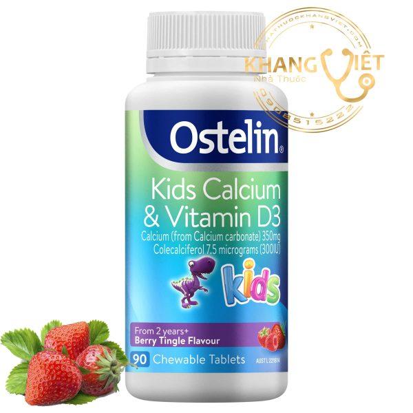 Ostelin Kids Calcium & Vitamin D3