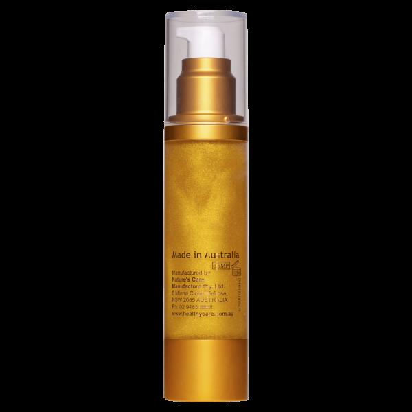 Hc Anti Ageing Golden Flake Face Serum 50ml 8 1 Min