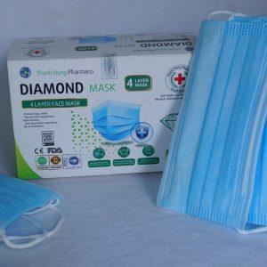 khẩu trang y tế diamond mask