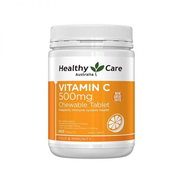 Vitamin C viên nhai