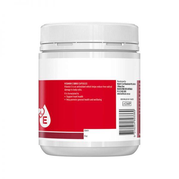Vitamin E 500IU chính hãng