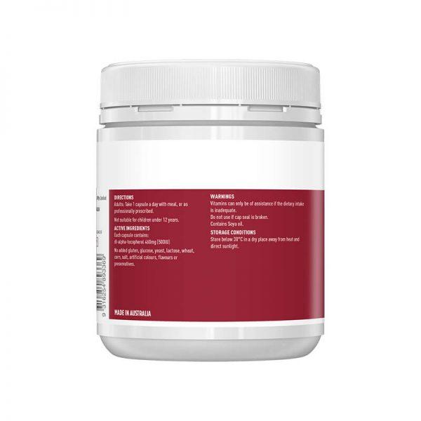 Vitamin E 500iu healthycare