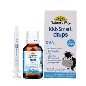 kids smart drops dha nature's way chính hãng