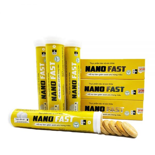 VIÊN SỦI Nano Fast Trị Gout Hiệu Quả
