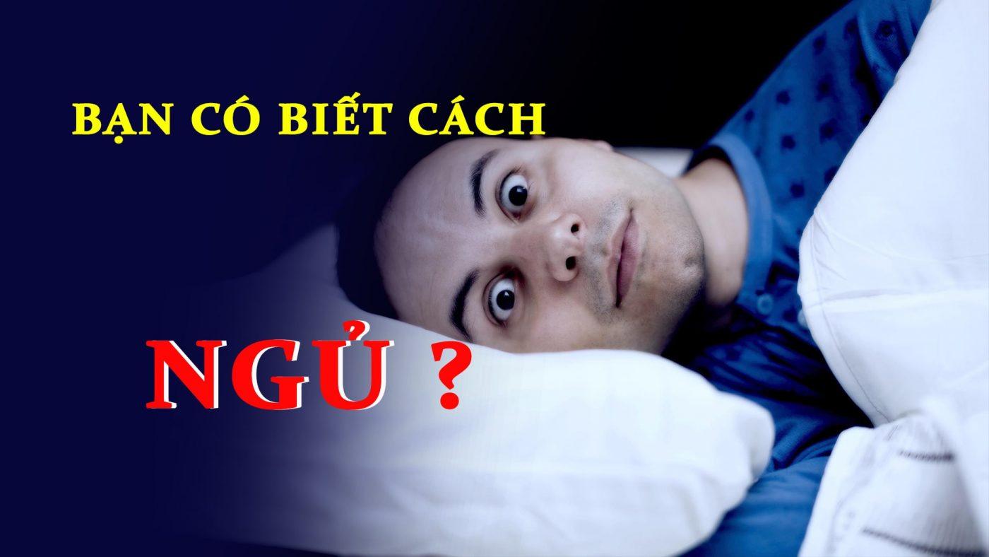 Phương Pháp Trị Bệnh Mất Ngủ