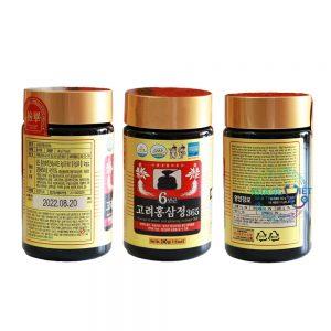 Cao Hồng Sâm 365 Hàn Quốc