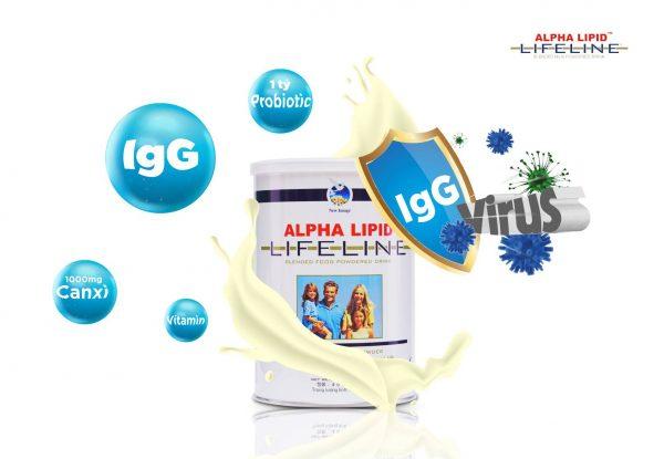Sữa Non Alpha Lipid Chính Hãng