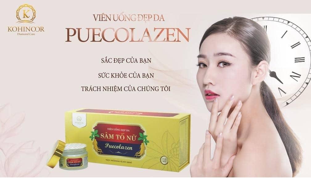 Sâm Tố Nữ Puecolazen Kohinoor 8938527095099 - Xua tan nám tàn nhang - Làn da đẹp hoàn hảo