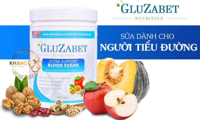 Sữa Dánh Cho Người Tiểu đường Gluzabet