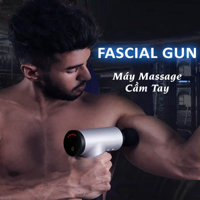 Máy Massage Cầm Tay - Súng Massage Cầm Tay - Nỗi Đau Không Còn Là Vấn Đề