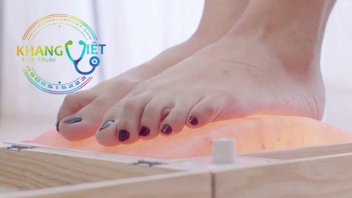 Đèn Đá Muối Himalaya ngâm chân - Giúp bạn tự chữa lành bệnh