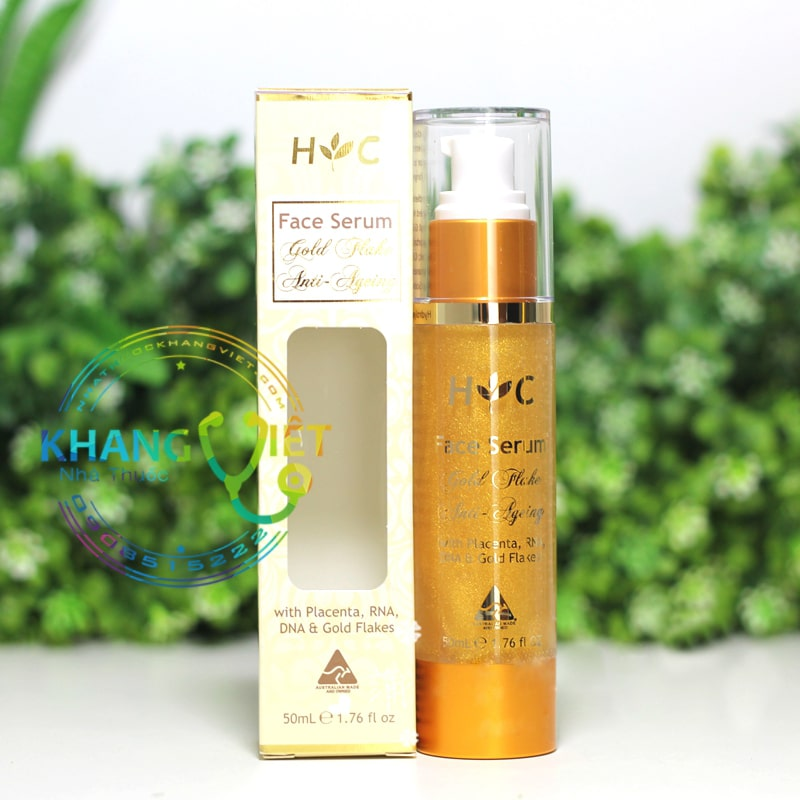 FACE SERUM GOLD FLAKE ANTI-AGEING HEALTHY CARE