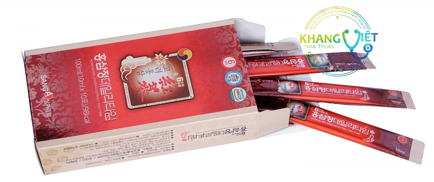 Nước Hồng Sâm Sanga Hàn Quốc Cho Người Lớn 30 Gói