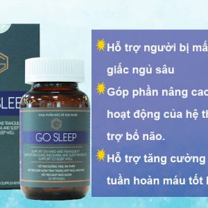 Thuốc Trị Mất Ngủ Go Sleep