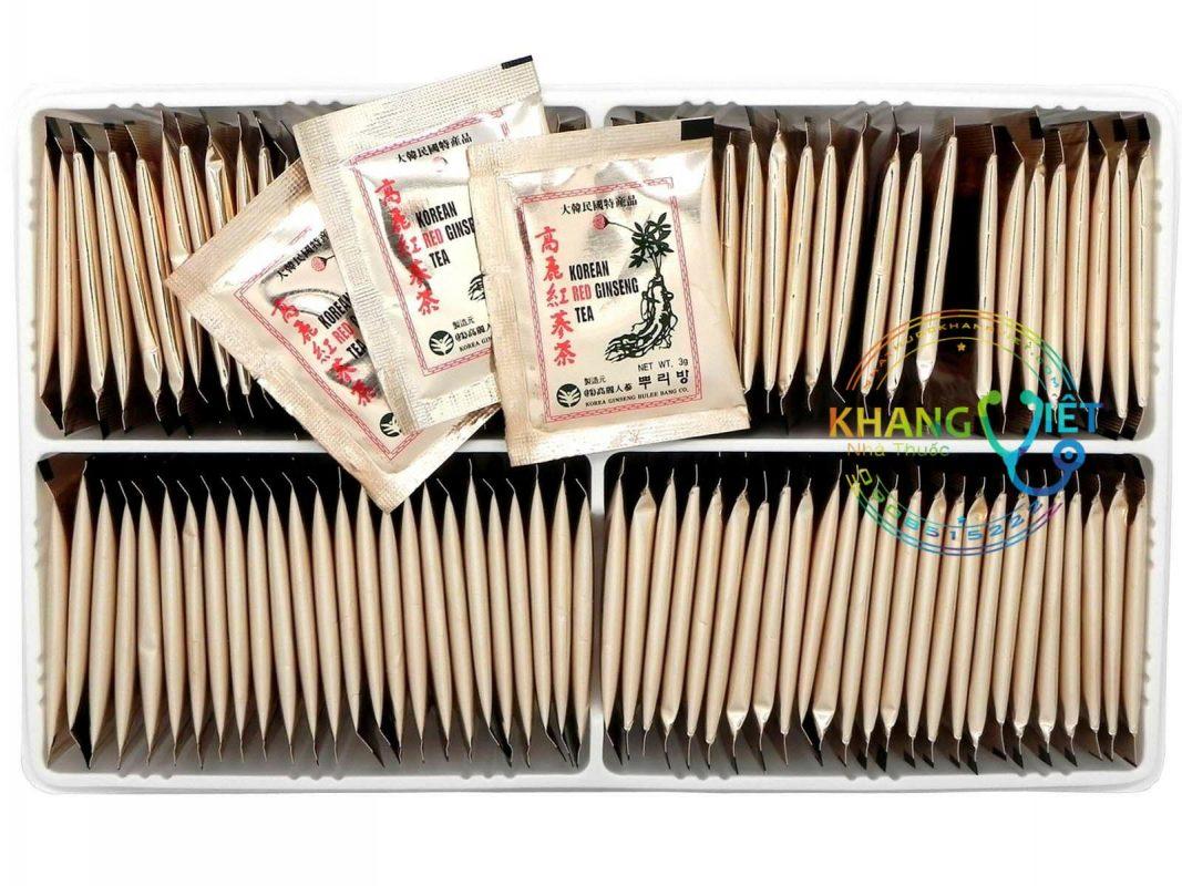 Trà Hồng Sâm Hàn Quốc - Thanh Lọc Cơ Thể - Ngủ Ngon Ăn Ngon - 100 gói